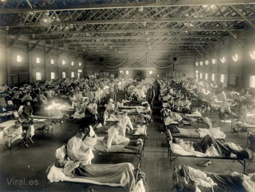 Sobre la gripe española